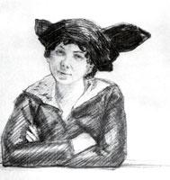 А.П. Остроумова-Лебедева. 1915 г.